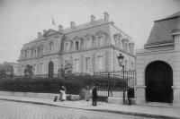 La façade principale de l'Institut Pasteur en 1889