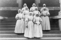 Soeurs de Saint-Joseph de Cluny, infirmières de l'Hôpital Pasteur vers 1910-1920