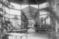 Jardin d'hiver, serre de l'ancien hôpital de l'Institut Pasteur