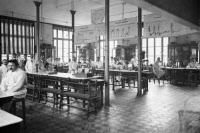 Institut Pasteur, salle de cours, 1910