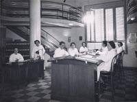 Salle du BCG, fichier et bibliothèque du BCG, années 30