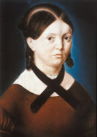 Madame Legendre, pastel exécuté par Louis Pasteur en 1839