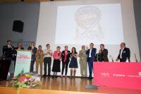 Conférence en l'honneur de Françoise Barré-Sinoussi le 13 octobre 2015, Institut Pasteur, Paris.