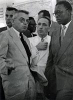 Dr Hervé Floch et Jospeh Conombo, Guyane 1954