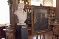 Buste du Comte de Laubespin dans la Salle des Actes