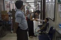 Hôpital Pédiatrique de Yangon, Birmanie.