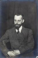 Portrait de Félix d'Hérelle (1873-1949), vers 1910