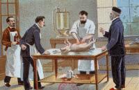 """""""Pasteur et ses travaux sur le rouget"""""""