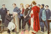 """Imagette """"Pasteur découvre le virus de la rage"""""""
