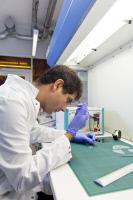 Plate-forme Technologique Biomatériaux et Microfluidique en 2017