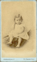 Louis Pasteur Vallery-Radot bébé.