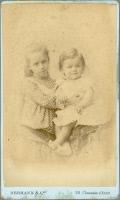 Camille et Louis Pasteur Vallery-Radot enfants