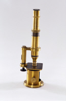 Microscope Nachet de Louis Pasteur vers 1853