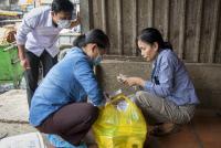 Projet ASIDE : surveillance de la grippe aviaire au Cambodge en février 2018