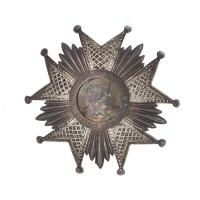 Plaque de Grand Officier de la Légion d'honneur remise à Jules Bordet (1870-1961)