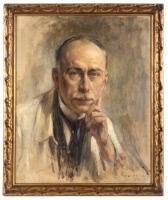 Portrait de Jules Bordet (1870-1961) par Jacques Madyol