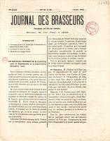 Article dans le Journal des Brasseurs du 7 avril 1872 - page 241