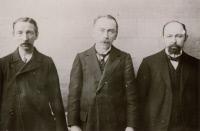 Octave Gengou, Jules Bordet et Lucien Houman en 1901