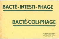 Buvard publicitaire du Laboratoire du bactériophage