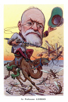 Caricature d'Alphonse Laveran