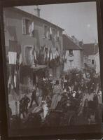 Inauguration du Monument à Louis Pasteur à Arbois en 1901