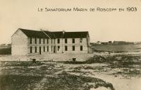 Sanatorium marin de Roscoff en 1903.