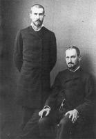 Emile Roux et Isidore Straus en 1883