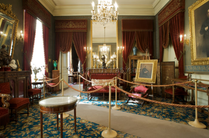 Grand salon de l'appartement de Louis Pasteur,