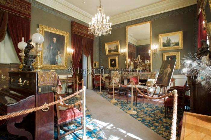 Grand salon - Appartement de Pasteur - Musée Pasteur