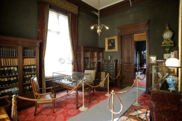 Cabinet de travail de Louis Pasteur, Musée Pasteur