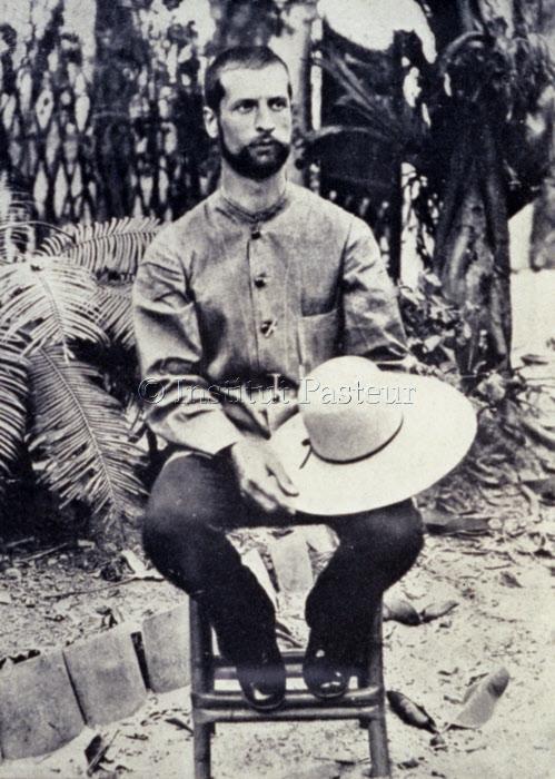 Alexandre Yersin en 1892 à Nha Trang (Annam) Vietnam