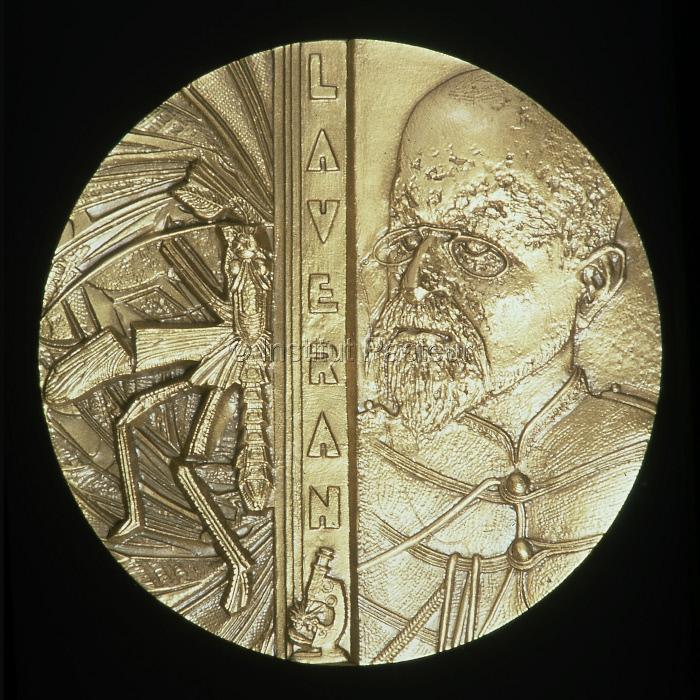 Médaille à l'effigie d'Alphonse Laveran (1845-1922)