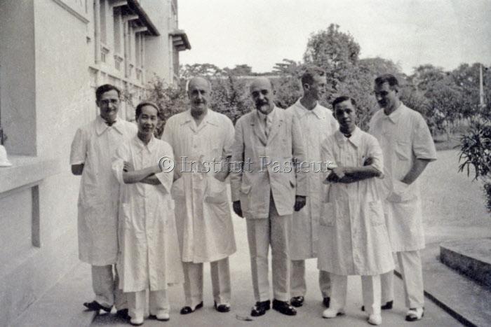 Noël Bernard et ses collaborateurs