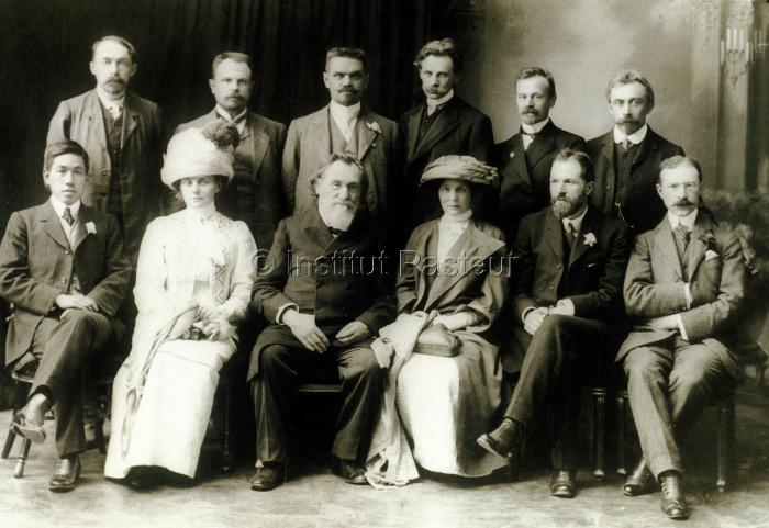 Elie Metchnikoff (1845-1916) Mission franco-russe de l'Institut Pasteur à Astrakan en 1911.