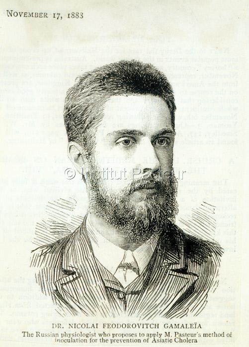 Nikolaï Gamaleïa ( 1859-1949 )
