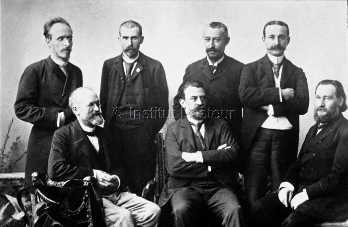 Membres du congrés de Budapest en 1894