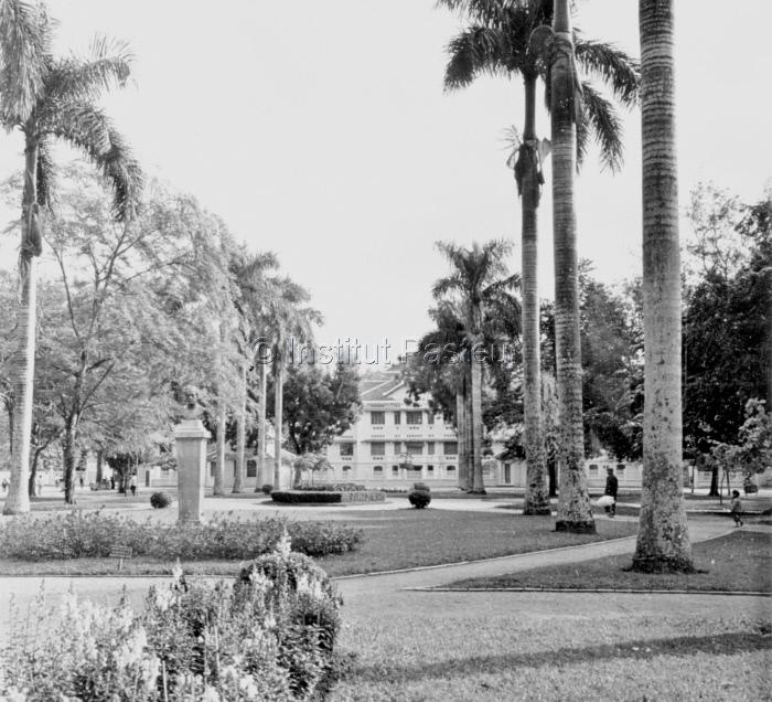 Institut National d'Hygiène et d'Epidémiologie de Hanoi en 1950