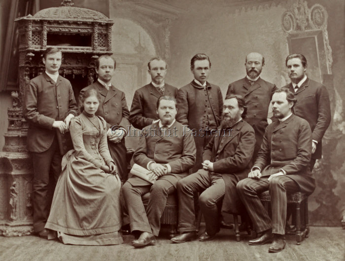 Metchnikoff en juin 1890