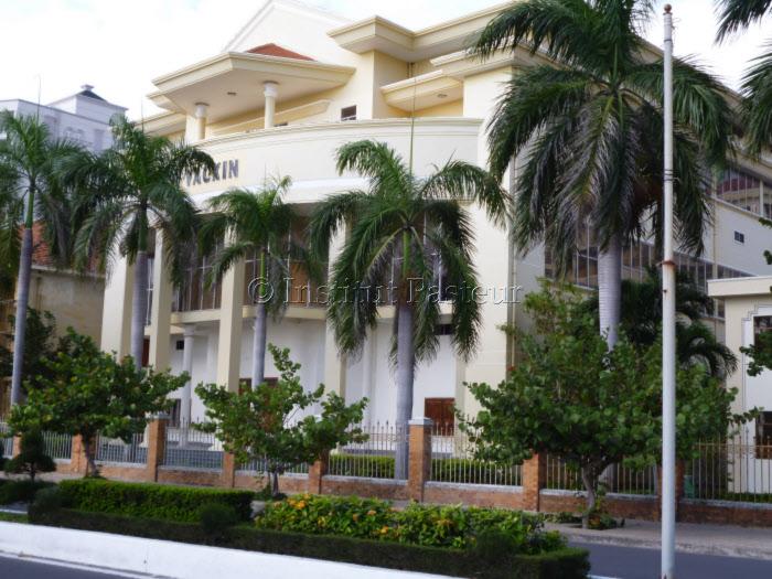 Vue de Institut Pasteur de Nha Trang au Viet-Nam