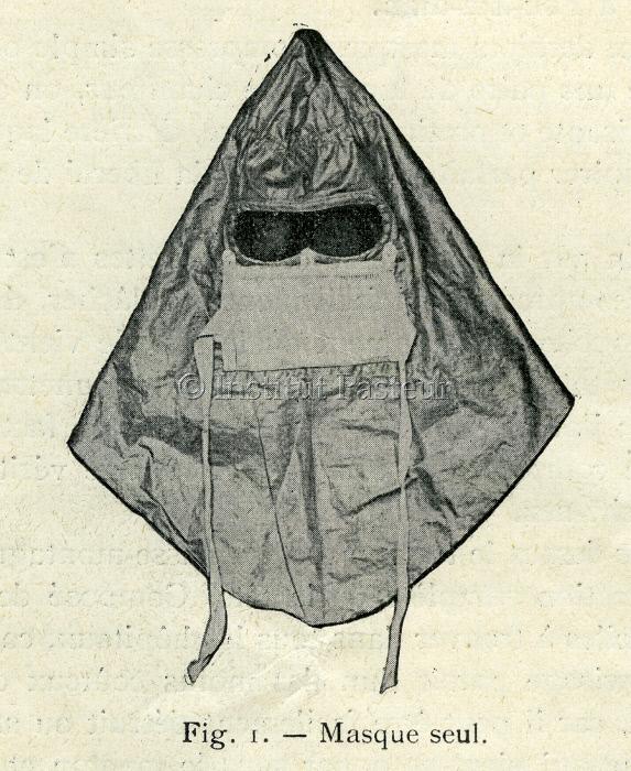 Modèle de masque antipesteux par Charles Broquet