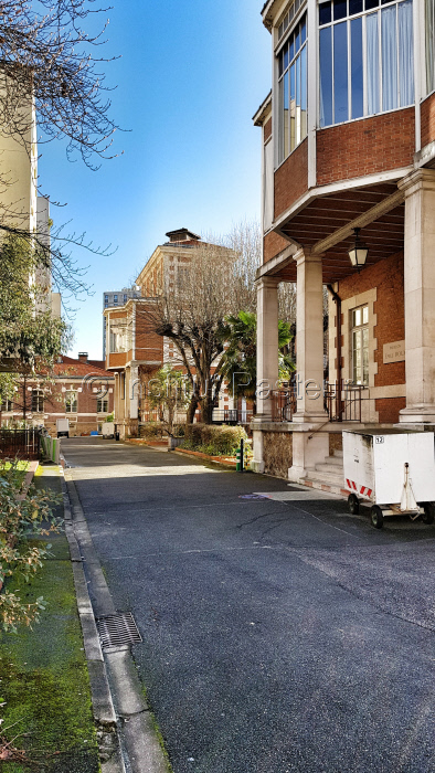 Ancien Hôpital Pasteur, pavillons E. Roux et L. Martin septembre 2017