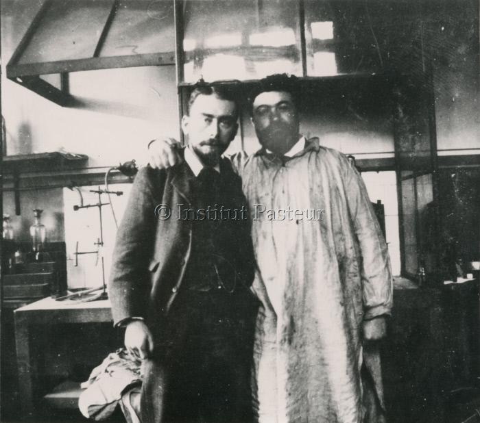 Jules Bordet et Jean Cantacuzène en 1898