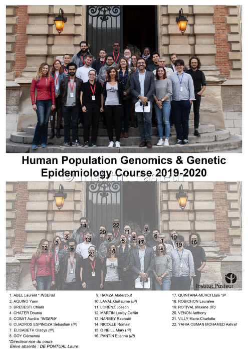 Cours HPGGE 2019-2020