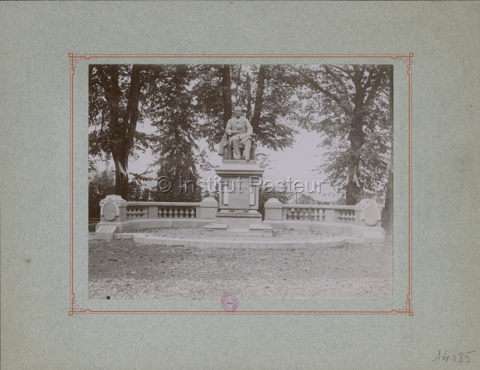 Monument à Louis Pasteur à Arbois