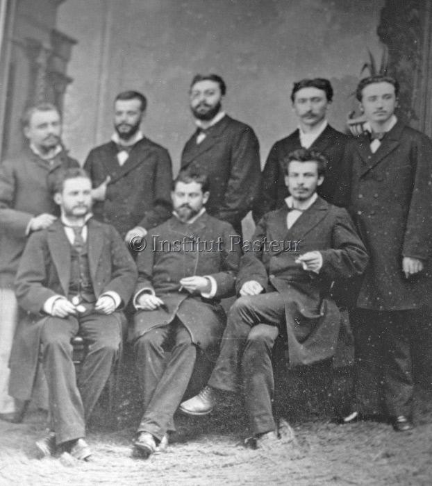 Préparateurs de la Faculté de Médecine de Bordeaux 1880-1881.