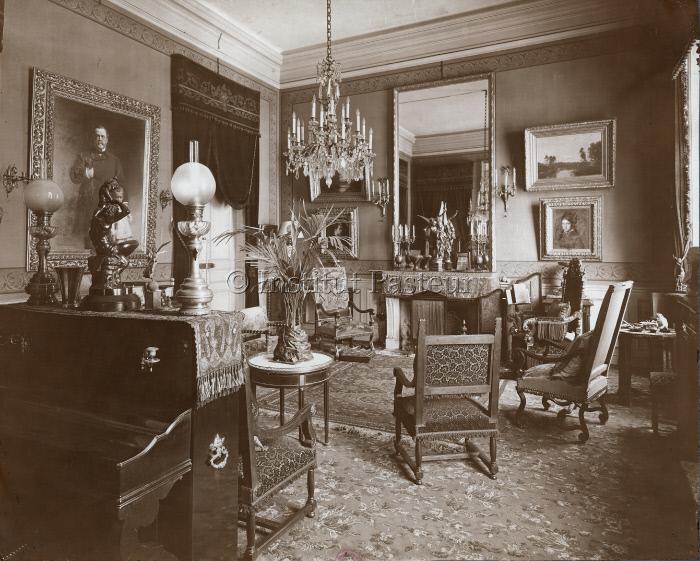 Grand salon de l'appartement de Louis Pasteur